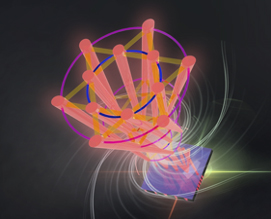 Artists impression of ultra-degree-of-freedom vector ray-wave structured light laser